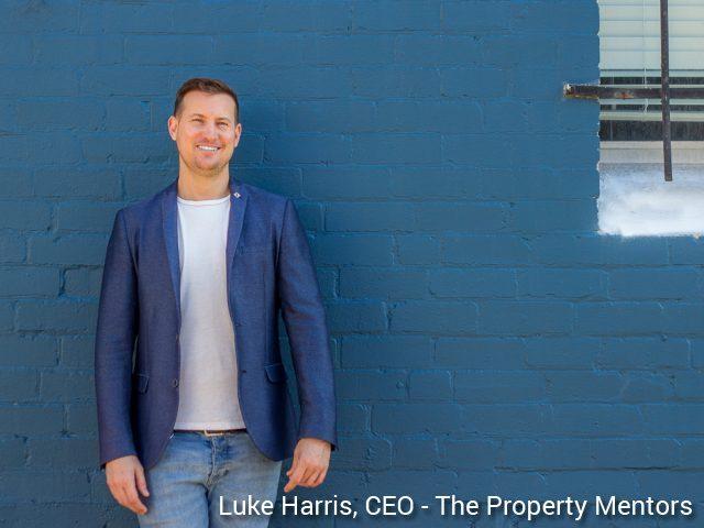 Luke Harris CEO The Property Mentors